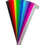 Plastic Wristbands (Solid Colours)